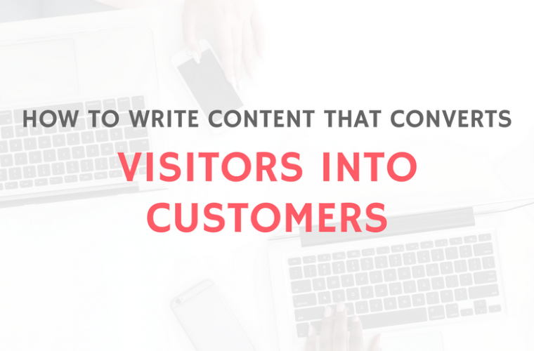 Image result for How do you write content that converts visitors into customers?