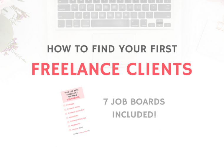 FIRST FREELANCE CLIENTS