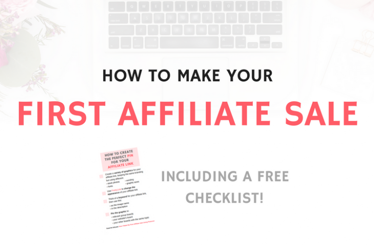 FIRST AFFILIATE SALE