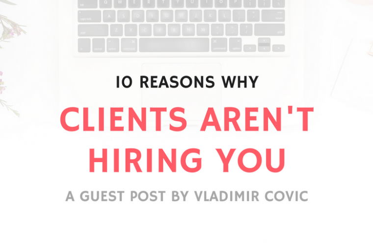 CLIENTS AREN'T HIRING
