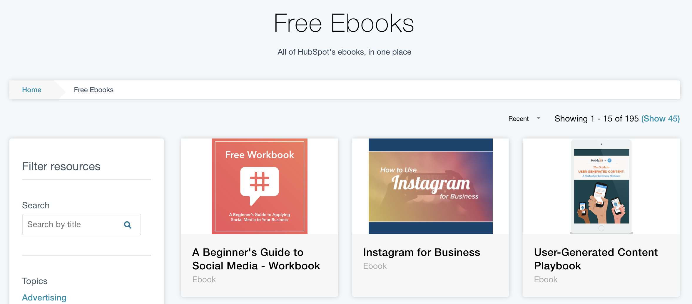 b2b ebook example - hubspot