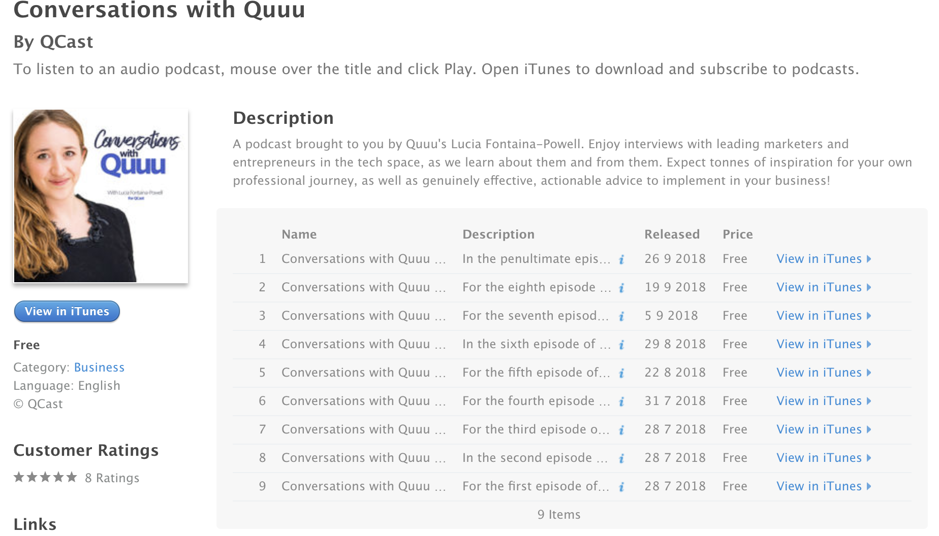 conversations with quuu podcast