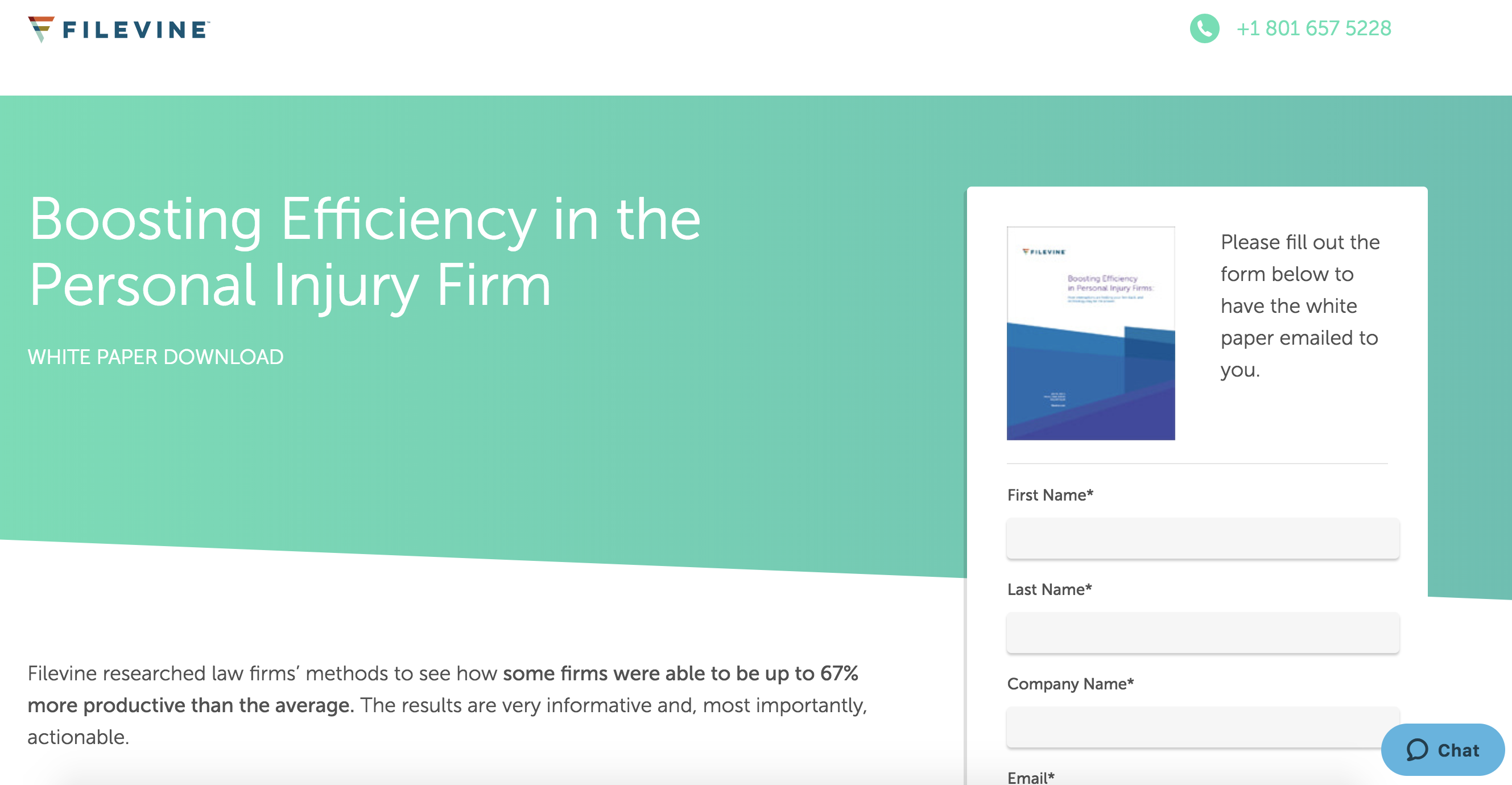 b2b content marketing strategy: filevine ebook for buyer personas